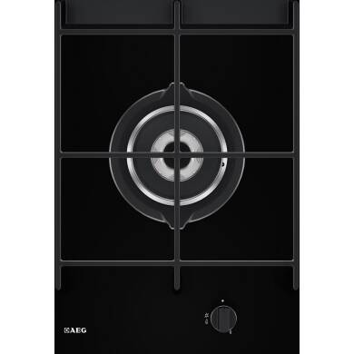 AEG H65xW360xD520 Domino Gas on Glass Wok Hob