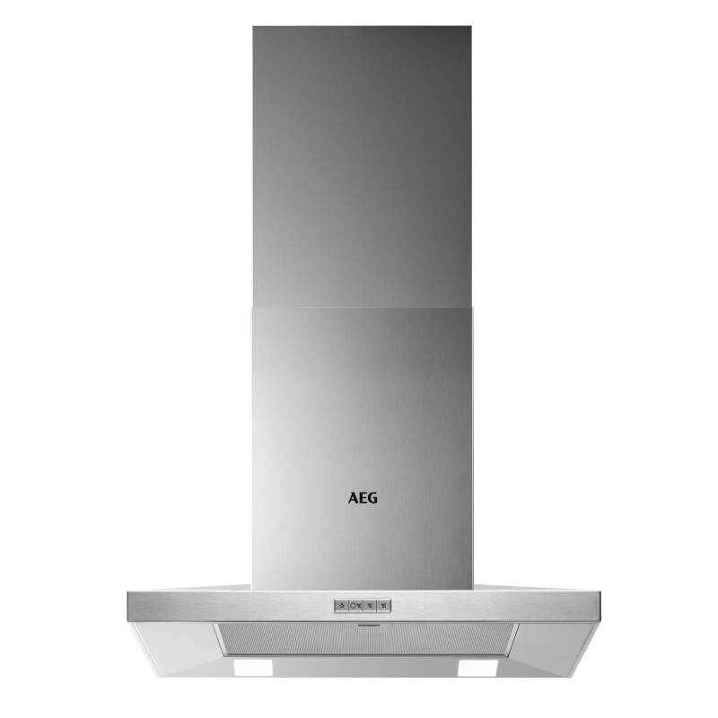 AEG H665xW598xD500 Chimney Cooker Hood - Stainless Steel primary image