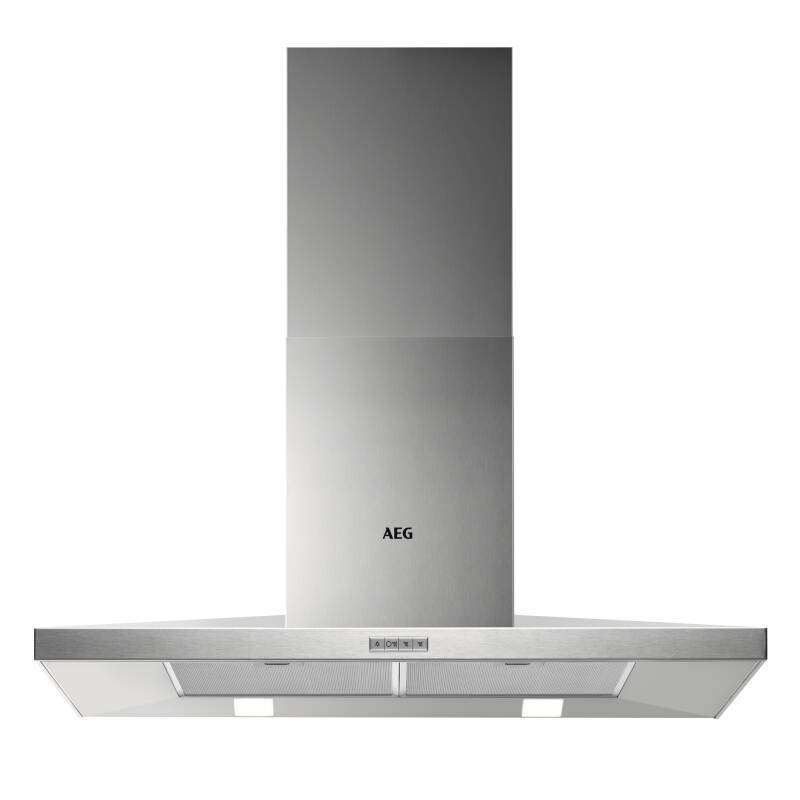 AEG H665xW898xD500 Chimney Cooker Hood - Stainless Steel primary image