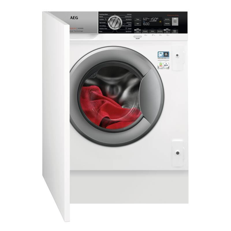 AEG H819xW596xD540 Integrated Washer Dryer (8kg) primary image