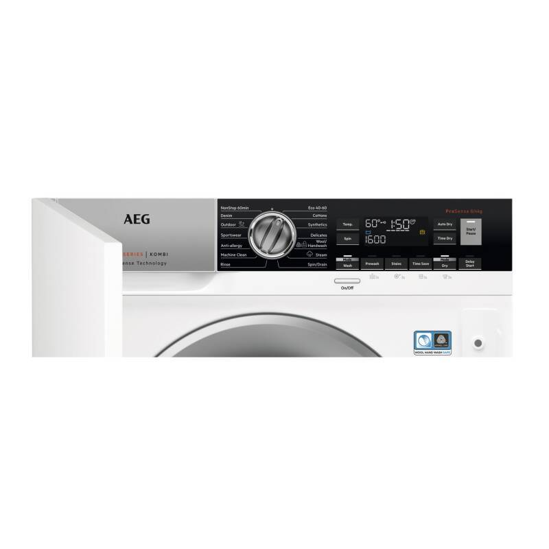 AEG H819xW596xD540 Integrated Washer Dryer (8kg) additional image 7
