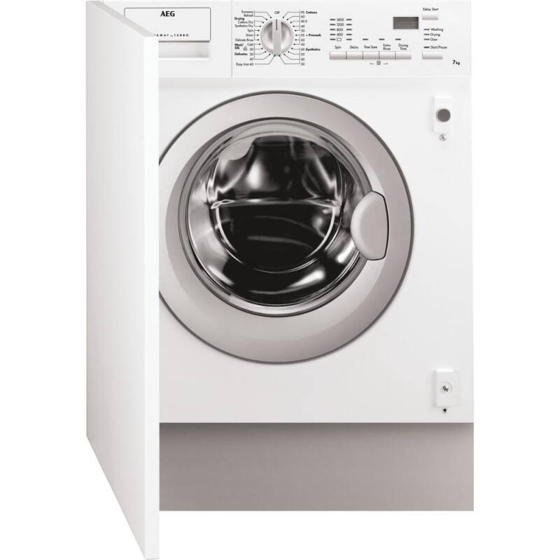 AEG H820xW595xD544 Fully Integrated Washer Dryer (7kg) primary image