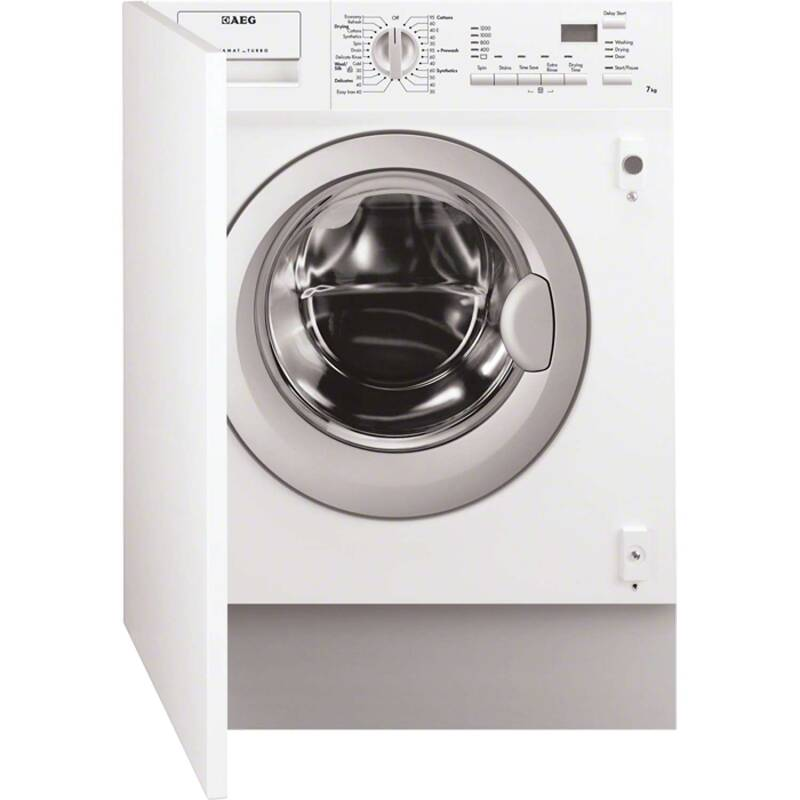 AEG H820xW596xD544 Fully Integrated Washer Dryer (7kg) primary image