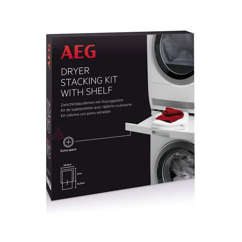 AEG Stacking Kit With Pull Out Shelf additional image 2