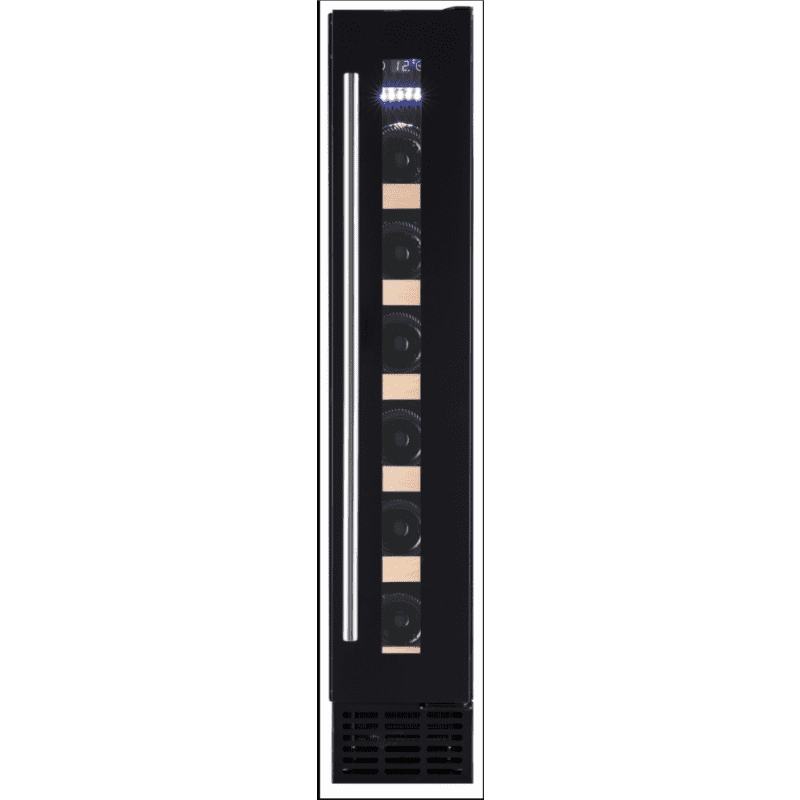 Amica H825xW148xD525 Under Counter Wine Cooler - Black primary image