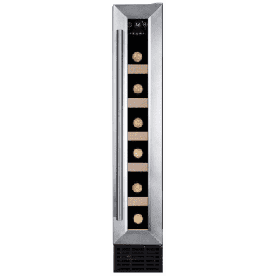 Amica H825xW148xD525 Under Counter Wine Cooler - Stainless Steel