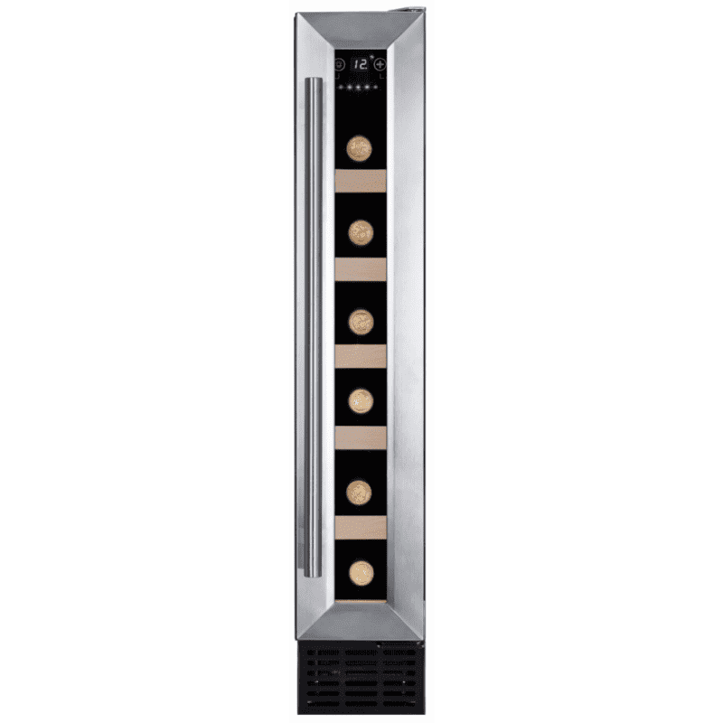 Amica H825xW148xD525 Under Counter Wine Cooler - Stainless Steel primary image