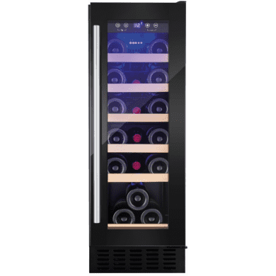 Amica H825xW295xD570 Under Counter Wine Cooler - Black