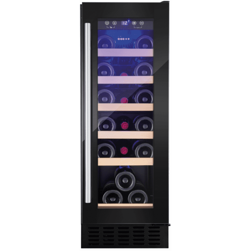 Amica H825xW295xD570 Under Counter Wine Cooler - Black primary image