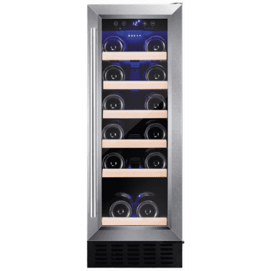 Amica H825xW295xD570 Under Counter Wine Cooler - Stainless Steel