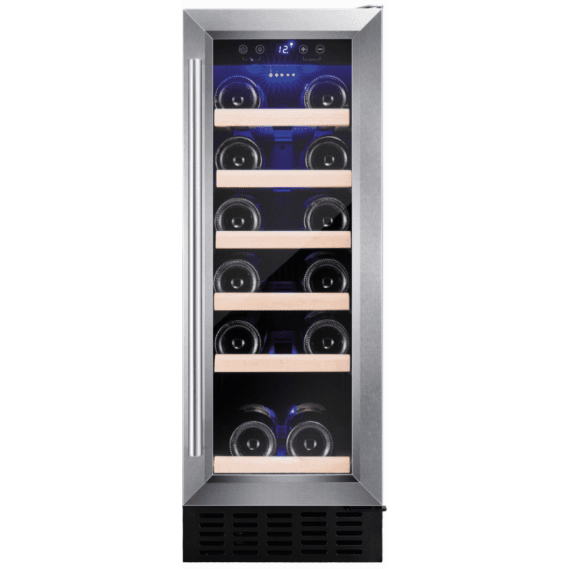 Amica H825xW295xD570 Under Counter Wine Cooler - Stainless Steel primary image