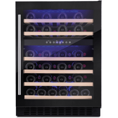 Amica H825xW595xD565 Under Counter Wine Cooler - Black