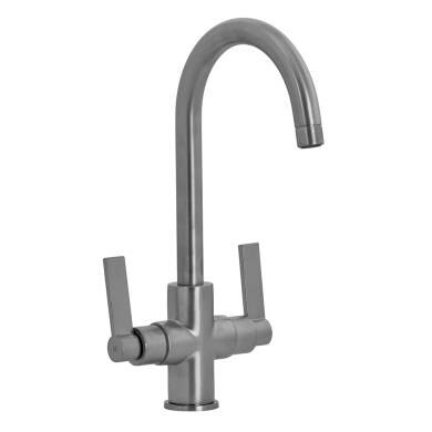 Aurora Tap Brushed Steel - High/Low Pressure