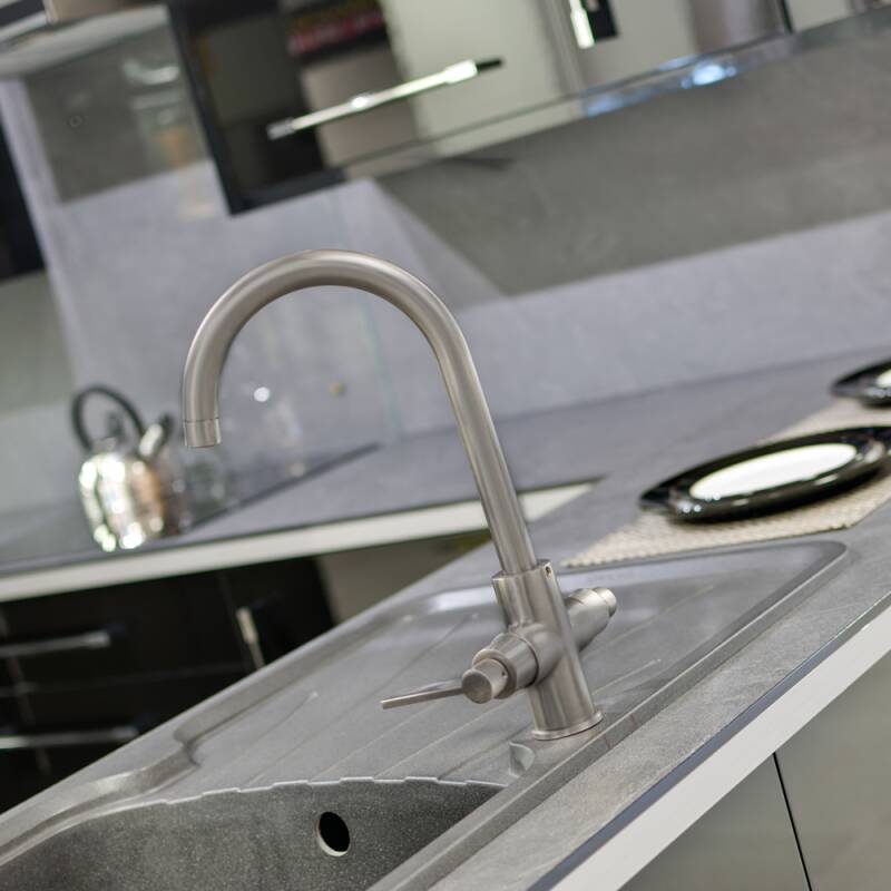 Aurora Tap Brushed Steel - High/Low Pressure additional image 9