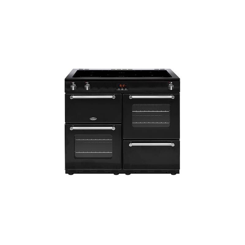 Belling Lincoln Classic 100cm Induction Range Cooker - Black primary image
