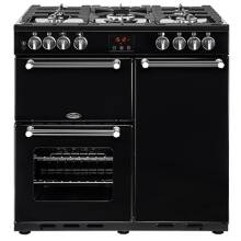 Belling Lincoln Classic 90cm Dual Fuel Range Cooker