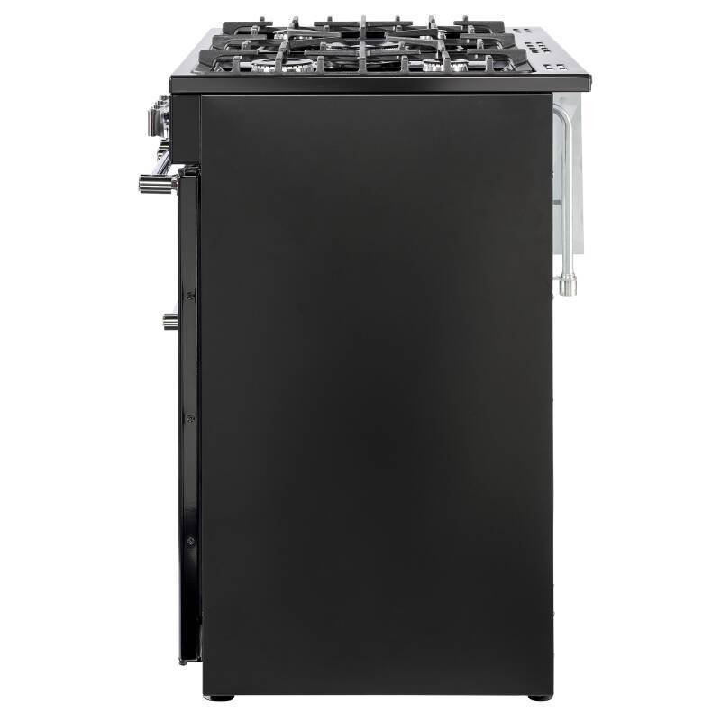 Belling Lincoln Classic 90cm Dual Fuel Range Cooker - Black additional image 2