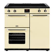 Belling Lincoln Classic 90cm Induction Range Cooker - Cream