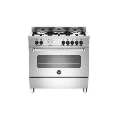 Bertazzoni Master 90cm Dual Fuel 5 Burner Range Cooker