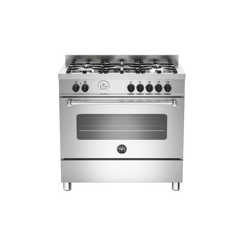 Bertazzoni Master 90cm Dual Fuel 5 Burner Range Cooker primary image