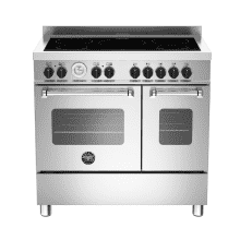 Bertazzoni Master 90cm Induction 5 Zone Range Cooker (2 Ovens)