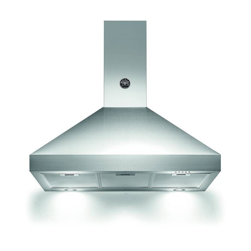 Bertazzoni Master Cooker Hood Stainless Steel 900mm primary image