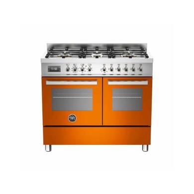 100cm Dual Fuel 6 Burner Range Cooker