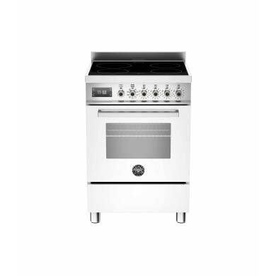 Bertazzoni Professional 60cm Induction 4 Zone Range Cooker - Gloss White (Bianco)