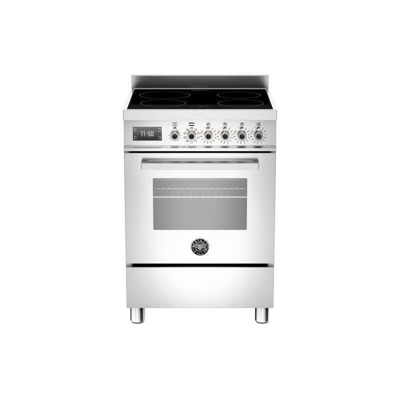 Bertazzoni Professional 60cm Induction 4 Zone Range Cooker - Stainless Steel primary image
