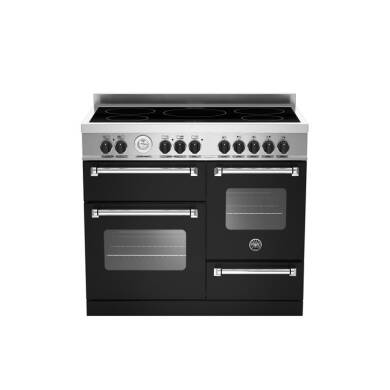 Bertazzoni XG Master 100cm Induction 5 Zone Range Cooker (2 Ovens) - Matt Black (Nero)