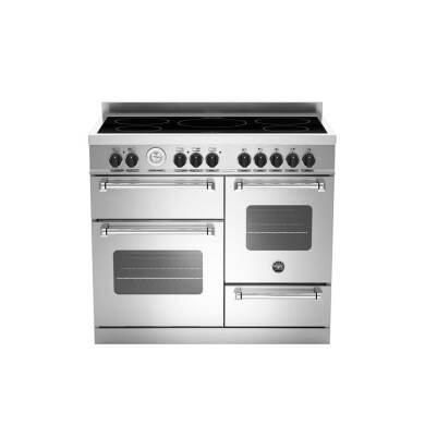 Bertazzoni XG Master 100cm Induction 5 Zone Range Cooker (2 Ovens) - Stainless Steel