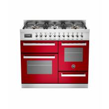 Bertazzoni XG Professional 100cm Dual Fuel 6 Burner Range Cooker (2 ovens)