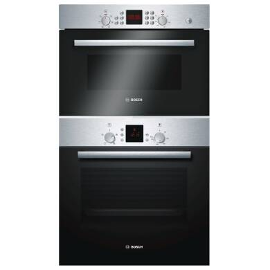 Bosch H104xW66xL70 Microwave and Oven Package - Stainless Steel - HBN331E7B/HBC84H501B