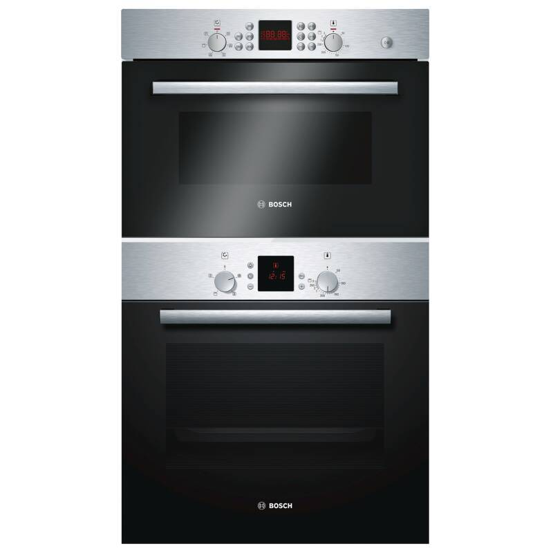 Bosch H104xW66xL70 Microwave and Oven Package - Stainless Steel - HBN331E7B/HBC84H501B primary image