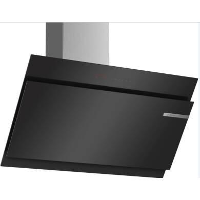 Bosch H1258xW890xD499 Angled Glass Hood - Black