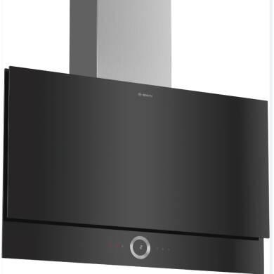 Bosch H1349xW890xD263 Flat Glass Hood - Black