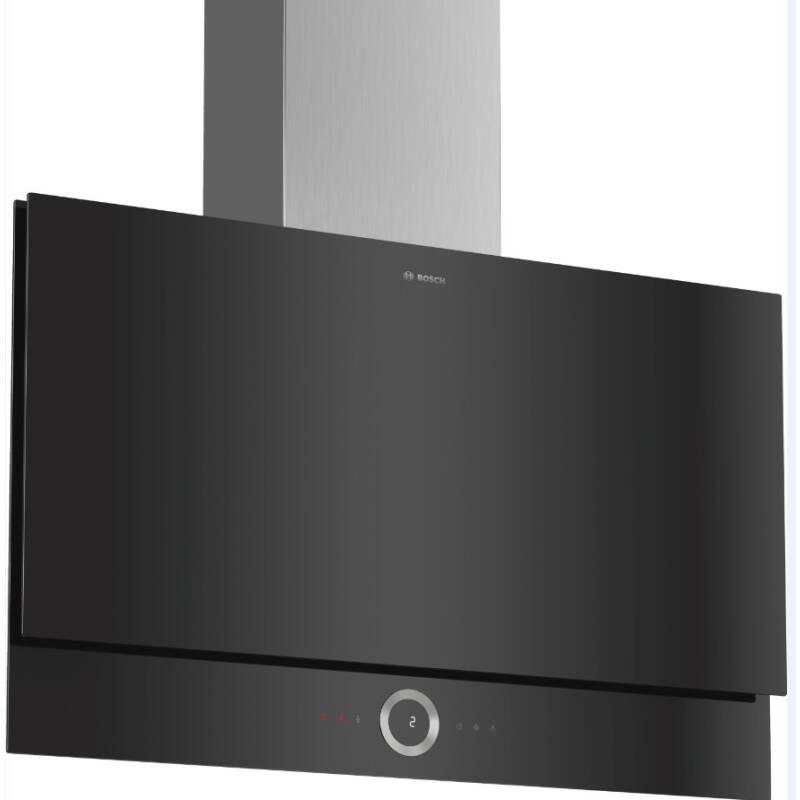 Bosch H1349xW890xD263 Flat Glass Hood - Black primary image