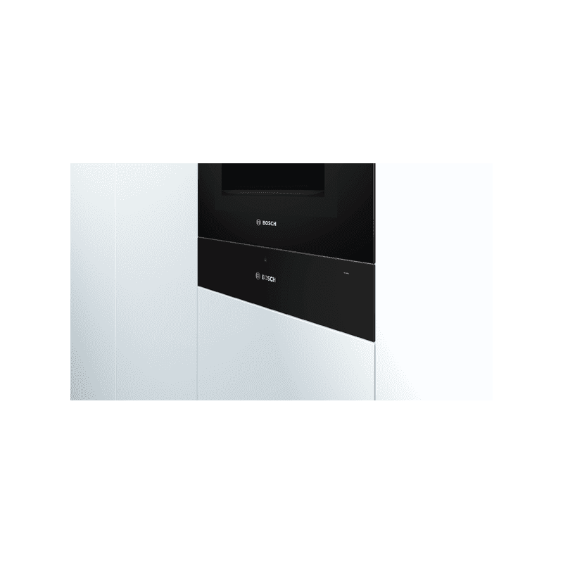 Bosch H140xW595xD548 Warming Drawer - Black additional image 2