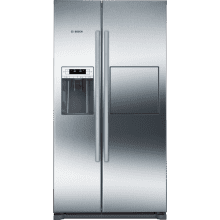 Bosch H1770xW910xD720 Side by Side Fridge Freezer