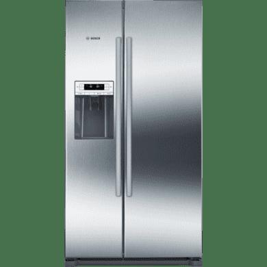 Bosch H1770xW910xD720 Side by Side Fridge Freezer