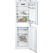 Bosch H1772xW558xD545 Integrated 50/50 Frost Free Fridge Freezer with VitaFresh