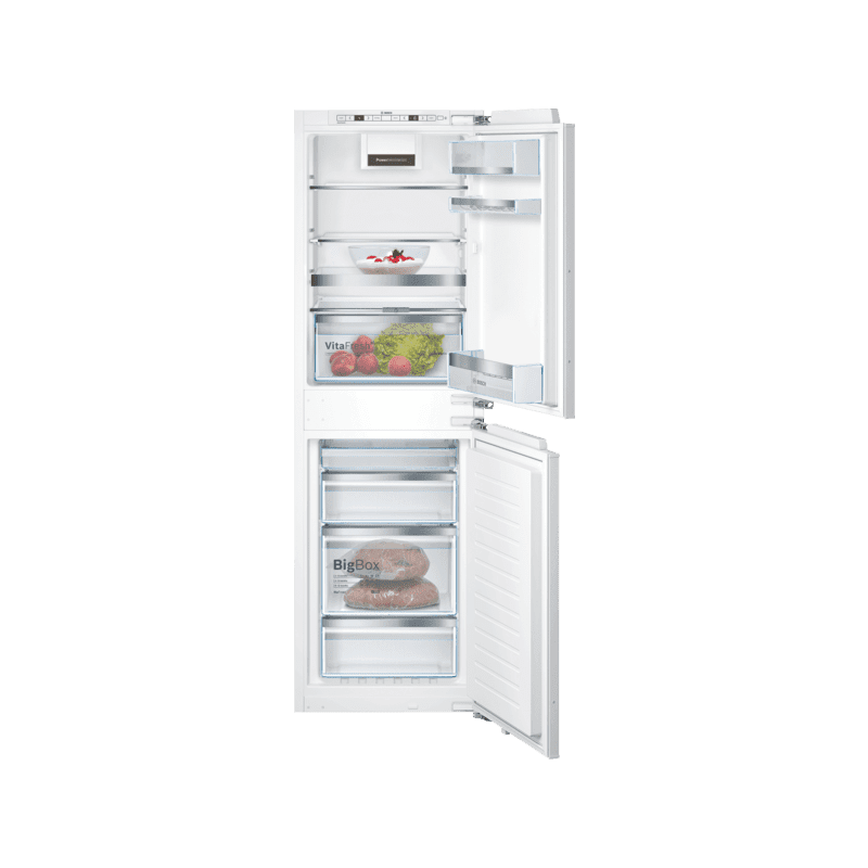 Bosch H1772xW558xD545 Integrated 50/50 Frost Free Fridge Freezer with VitaFresh primary image