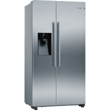 Bosch H1787xW908xD707 Side by Side Fridge Freezer