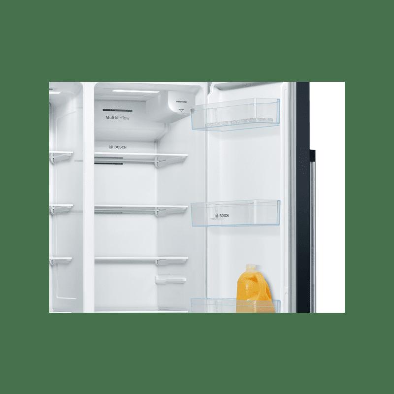 Bosch H1787xW908xD707 Side by Side Fridge Freezer Frost Free additional image 1