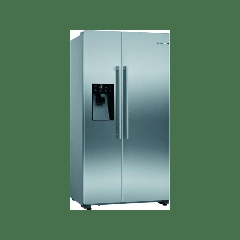 Bosch H1787xW908xD707 Side by Side Fridge Freezer Frost Free primary image