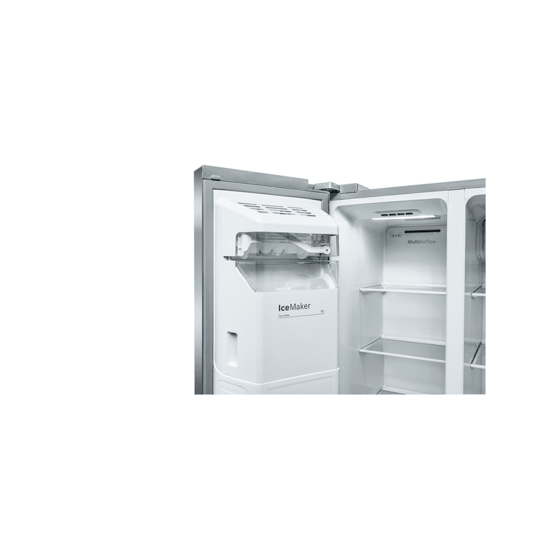 Bosch H1787xW908xD707 Side By Side Fridge Freezer - Frost Free additional image 1