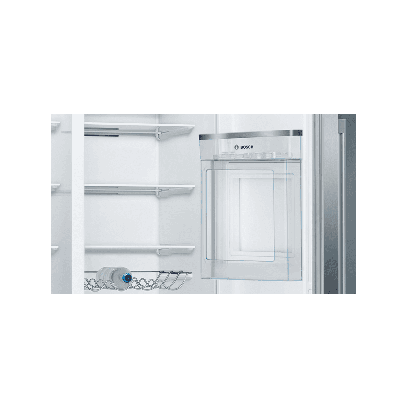 Bosch H1787xW908xD707 Side By Side Fridge Freezer - Frost Free additional image 2