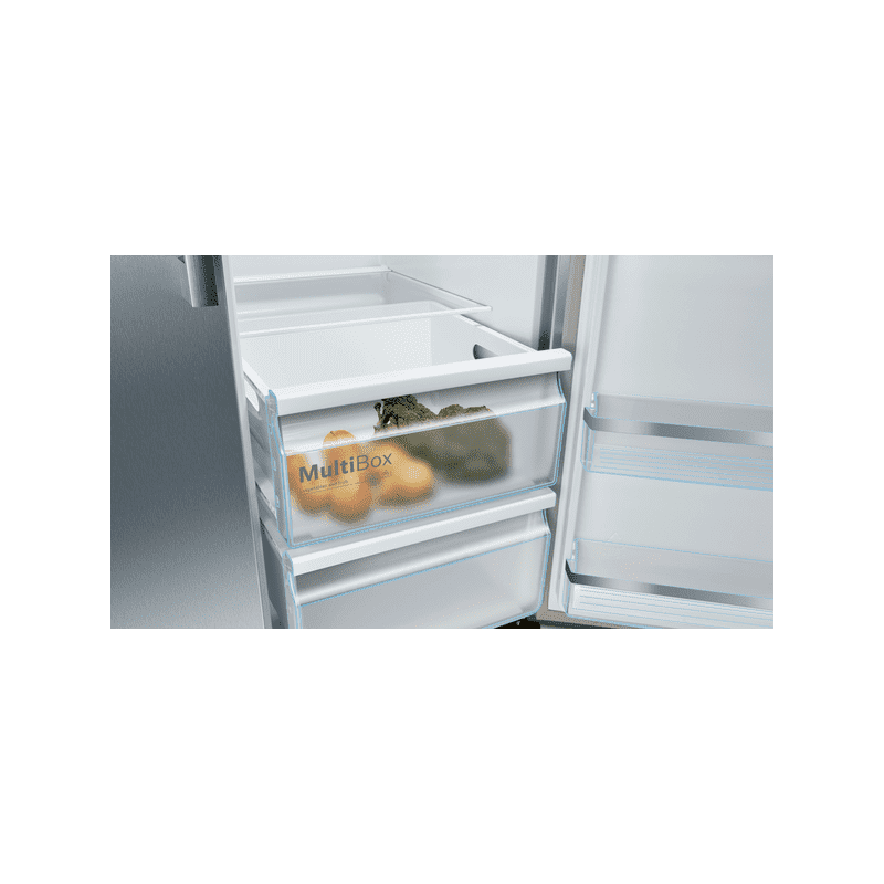 Bosch H1787xW908xD707 Side By Side Fridge Freezer - Frost Free additional image 3
