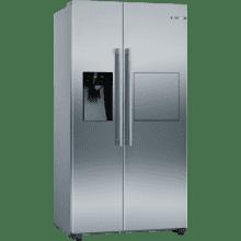 Bosch H1787xW908xD707 Side By Side Fridge Freezer - Frost Free
