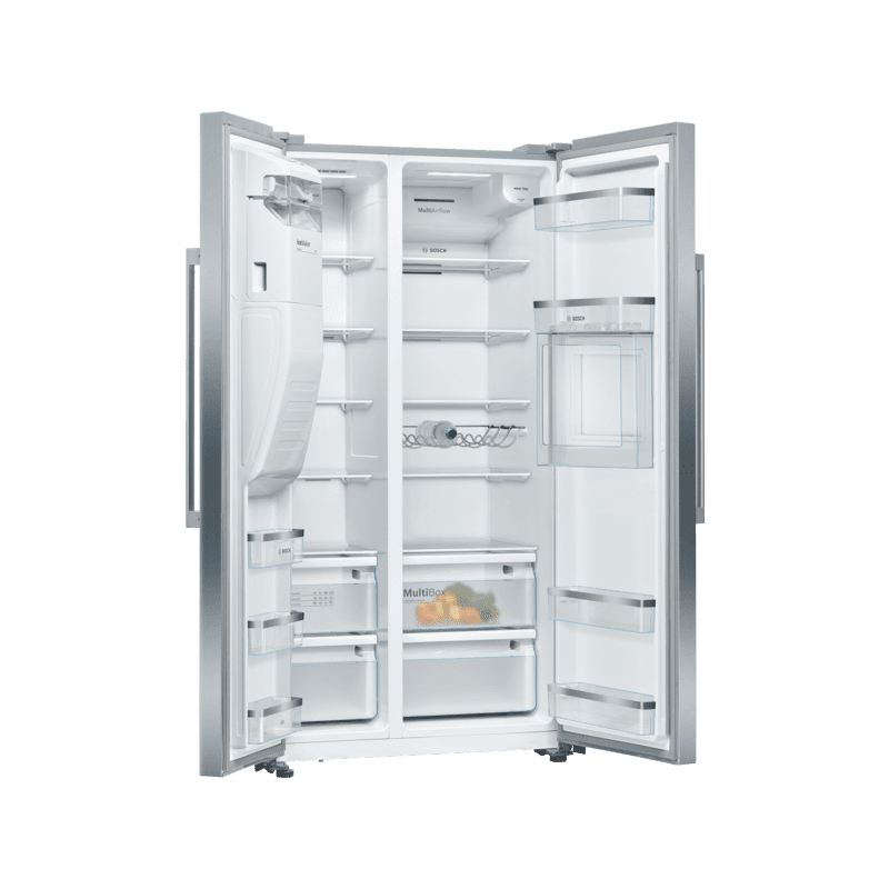 Bosch H1787xW908xD707 Side By Side Fridge Freezer - Frost Free additional image 6